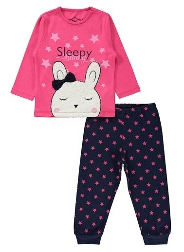Civil Girls Kız Çocuk Pijama Takım Fuşya